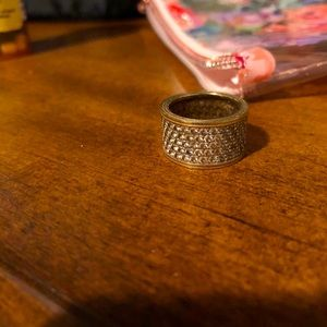 VTG Costume jewelry ring size approx. 6